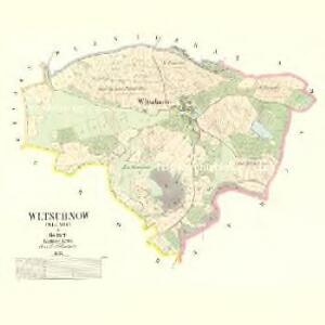 Wltschnow (Wlčnow) - c8681-1-001 - Kaiserpflichtexemplar der Landkarten des stabilen Katasters