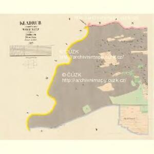 Kladrub - c3118-1-001 - Kaiserpflichtexemplar der Landkarten des stabilen Katasters