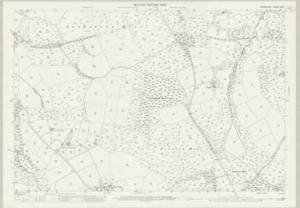 Devon LXIV.7 (includes: Hatherleigh; Inwardleigh; Jacobstowe) - 25 Inch Map