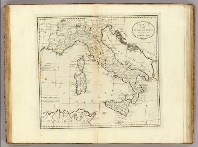 Italy and Sardinia.