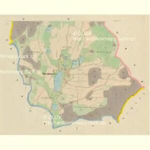 Herzmanetz - c1828-1-002 - Kaiserpflichtexemplar der Landkarten des stabilen Katasters