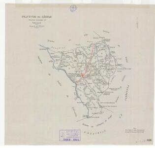 Mapa planimètric del Vilosell
