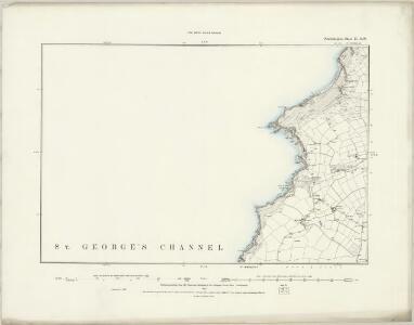 Pembrokeshire II.SE - OS Six-Inch Map