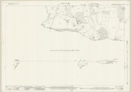 Herefordshire XLI.16 & 11 (includes: Donnington; Dymock; Ledbury Rural; Little Marcle; Much Marcle) - 25 Inch Map