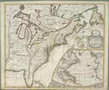 A new map of the English empire in America: viz. Virginia, Maryland, Carolina, New York, New Iarsey, New England, Pennsylvania, Newfoundland, New France &c. / revis'd by Ion. Senex, 1719; I. Harris, sculp.
