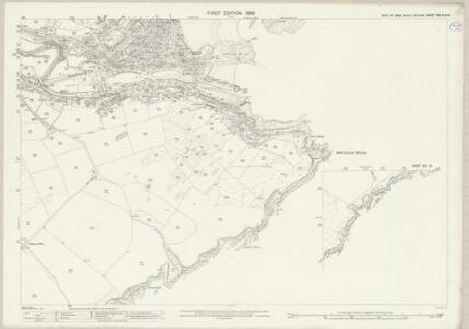 Isle of Man XIII.12 & 16 - 25 Inch Map
