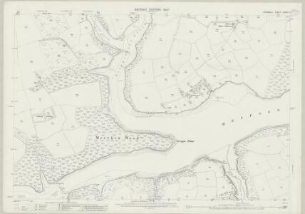 Cornwall LXXVII.9 (includes: Constantine; Manaccan; St Martin in Meneage) - 25 Inch Map