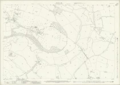 Surrey XXIV.5 (includes: Guildford; Send; Woking; Worplesdon) - 25 Inch Map