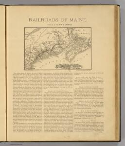 Maine Central Railroad.