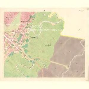 Turnitz (Twrdonice) - m3180-1-005 - Kaiserpflichtexemplar der Landkarten des stabilen Katasters