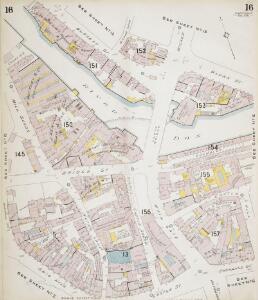 Insurance Plan of Sheffield (1896): sheet 16