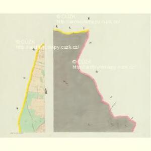 Mladoschowitz - c4743-1-002 - Kaiserpflichtexemplar der Landkarten des stabilen Katasters