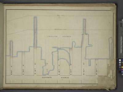 [Map bounded by Pier - Line, W. 36th St, Eleventh     Avenue, W. 28th St; Including Twelfth Avenue, W. 29th St, W. 30th St, W. 31st    St, W. 32nd St, W. 33th St, W. 34th St, W. 35th St]