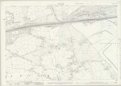 Surrey XVI.14 (includes: Pirbright; Woking) - 25 Inch Map