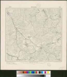 Meßtischblatt 2729 : Niedersfeld, 1900
