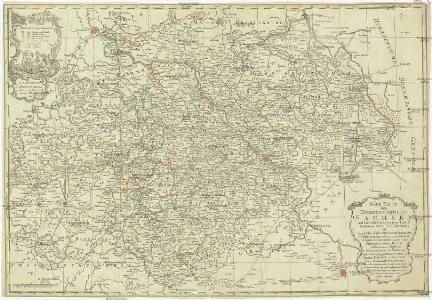Neue Karte des Kuhrfürstenthums Sachsen und sämtlicher incorporirter Lande, darinnen enthalten die VII. Kreise