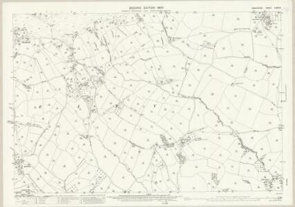 Shropshire LXXIX.8 (includes: Coreley; Hopton Wafers; Milson) - 25 Inch Map
