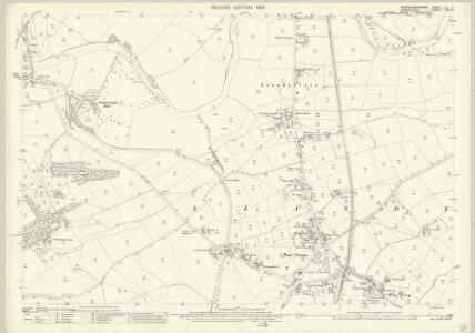 Montgomeryshire XI.9 (includes: Carreghofa; Llandysilio; Llanymynech) - 25 Inch Map