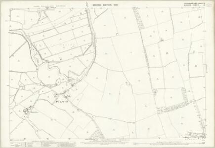 Oxfordshire XXXVIII.13 (includes: Aston Bampton; Hinton Waldrist; Longworth) - 25 Inch Map