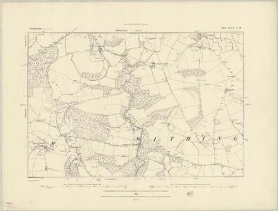 Gloucestershire XXXV.SE - OS Six-Inch Map