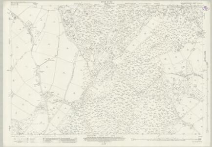 Gloucestershire XXXIX.15 (includes: Awre; Lydney; West Dean) - 25 Inch Map
