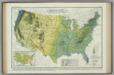 Average Fall Precipitation.  Atlas of American Agriculture.