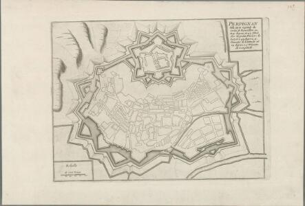 Perpignan ville forte capitale du comte de Roussillon
