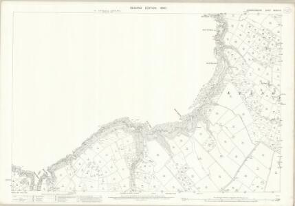 Caernarvonshire XXXVIII.16 (includes: Aberdaron; Tudweiliog) - 25 Inch Map