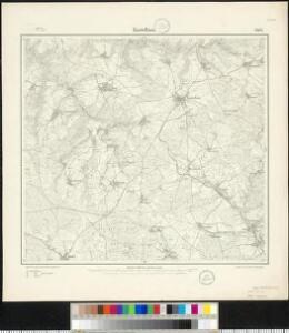 Meßtischblatt 3402 : Kastellaun, 1903