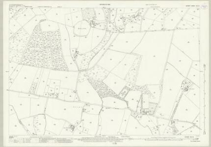 Dorset XLIII.5 (includes: Lytchett Matravers; Lytchett Minster; Morden) - 25 Inch Map