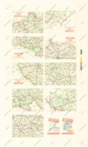 Přehledná silniční mapa