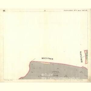 Chodenschloss - c7957-1-003 - Kaiserpflichtexemplar der Landkarten des stabilen Katasters