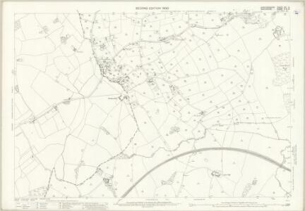Staffordshire XVI.12 (includes: Madeley; Maer; Woore) - 25 Inch Map