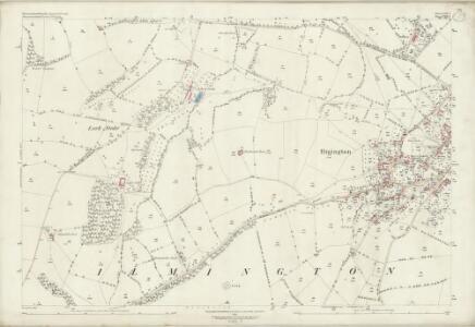 Warwickshire LIII.2 (includes: Admington; Ilmington) - 25 Inch Map