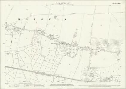 Kent XXXVII.1 (includes: Minster; Monkton) - 25 Inch Map