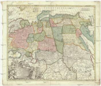 Generali totius imperii Russorum novissima tabula