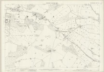 Staffordshire XL.14 (includes: Branston; Dunstall; Tatenhill) - 25 Inch Map