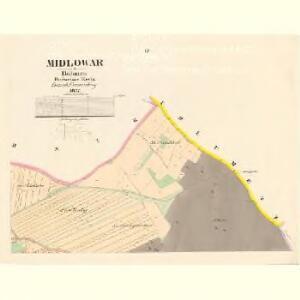 Midlowar - c4913-1-003 - Kaiserpflichtexemplar der Landkarten des stabilen Katasters