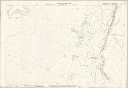 Westmorland XXXIX.12 (includes: Killington; Sedbergh) - 25 Inch Map
