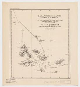 Galapagos Islands : showing exploration of the U.S. Fish Commission steamer