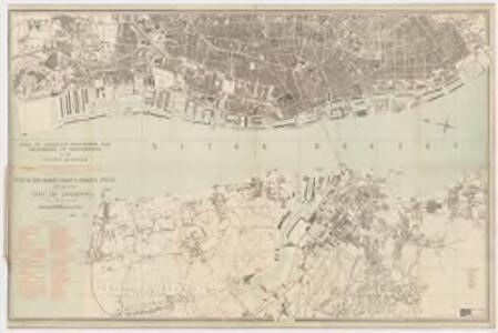 Plan of the Mersey docks and harbour estate with part of the city of Liverpool