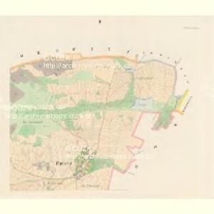 Partotitz (Partoticz) - c5637-1-002 - Kaiserpflichtexemplar der Landkarten des stabilen Katasters