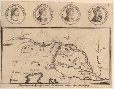 Bisthümer im Nordgau und Pannonien unter den Römern