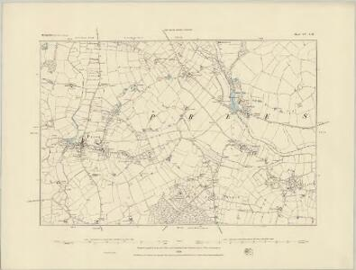 Shropshire XV.SE - OS Six-Inch Map