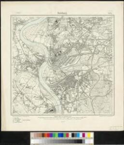 Messtischblatt 2574 : Duisburg, 1907 Duisburg