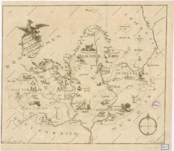 Kleine Land Karte des Marggrafthum Mähren für die Jungend in Bildern entworfen