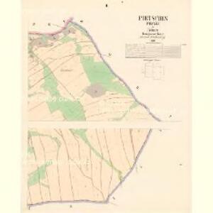 Pietschin (Pieczin) - c5749-1-002 - Kaiserpflichtexemplar der Landkarten des stabilen Katasters
