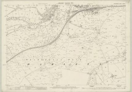 Devon LXXVI.8 (includes: Okehampton Hamlets; Okehampton) - 25 Inch Map