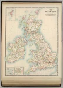 British Isles (Political).