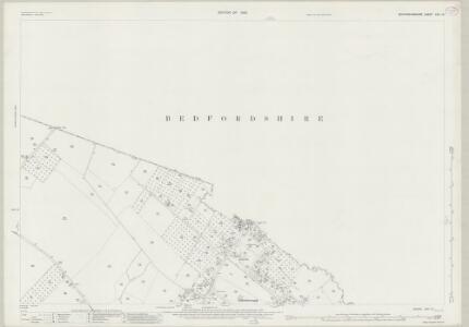 Buckinghamshire XXV.14 (includes: Eaton Bray; Edlesborough) - 25 Inch Map